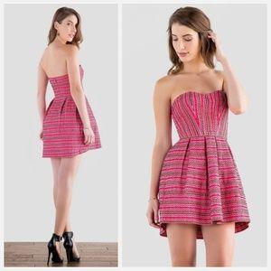 AINA BE • Alcott Embroidered Bandage Dress